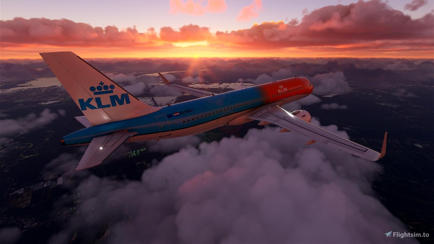 KLM A320 - Orange Pride