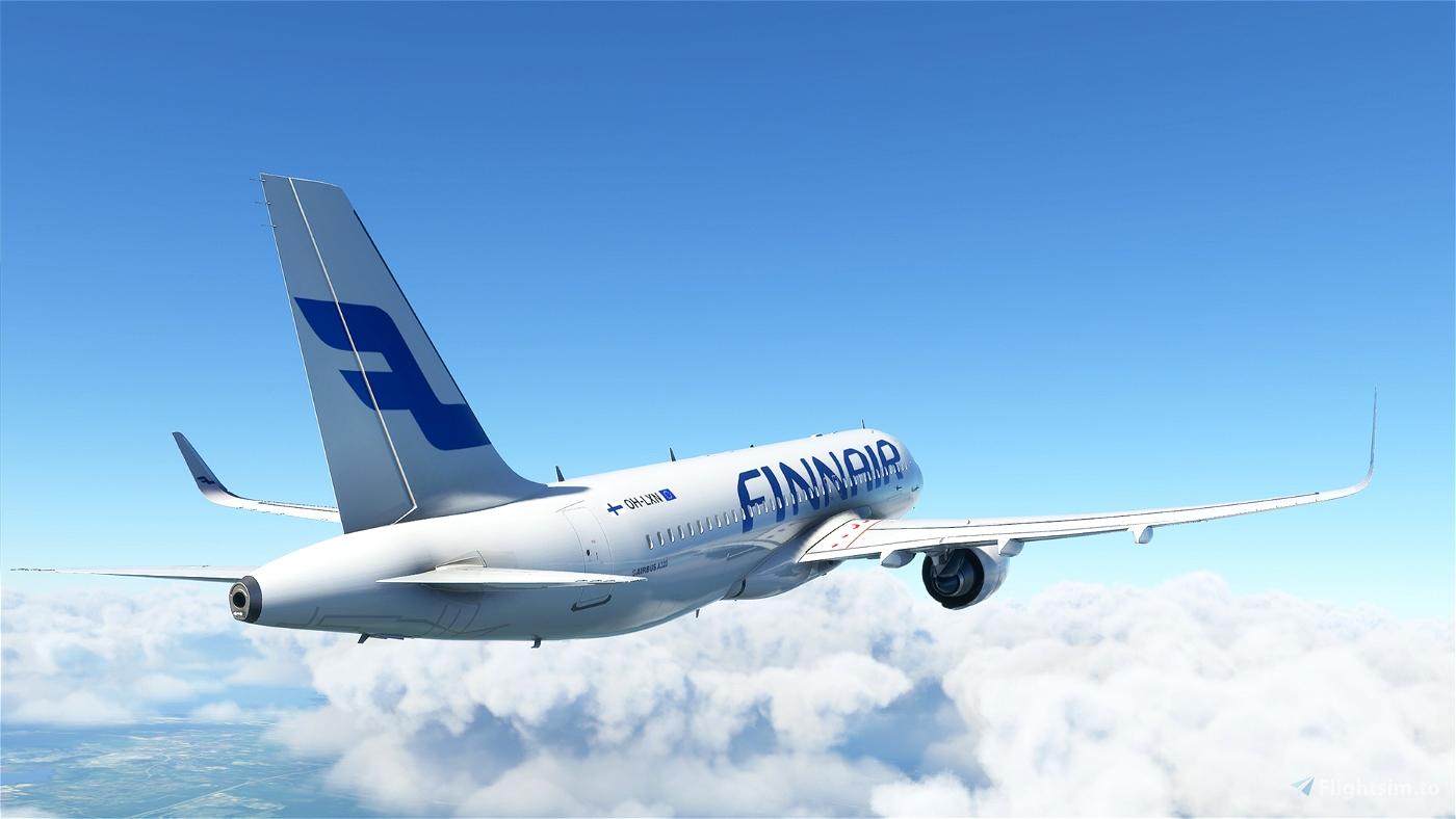 Airbus 320 NEO - Finnair - HighRes Flight Simulator 2020