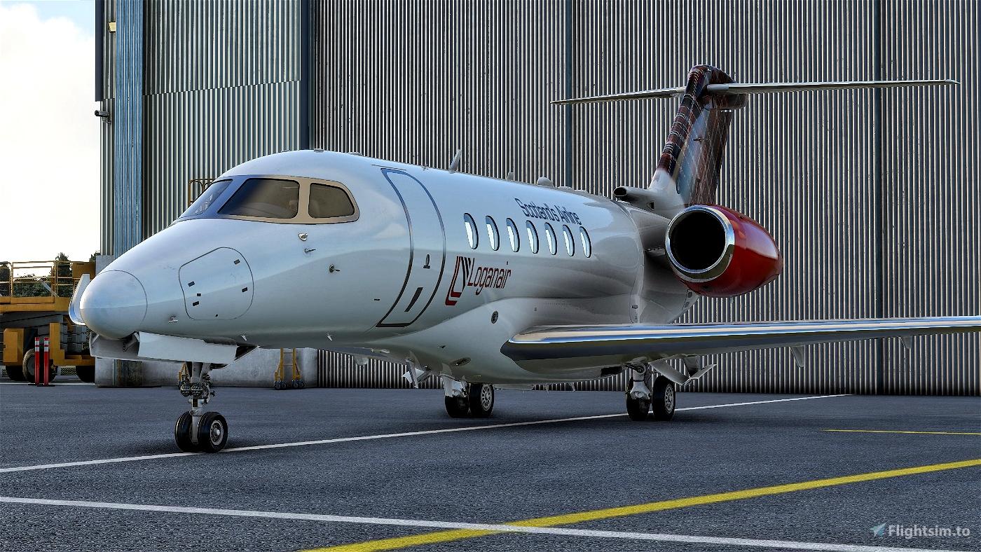Cessna Longitude LoganAir Flight Simulator 2020
