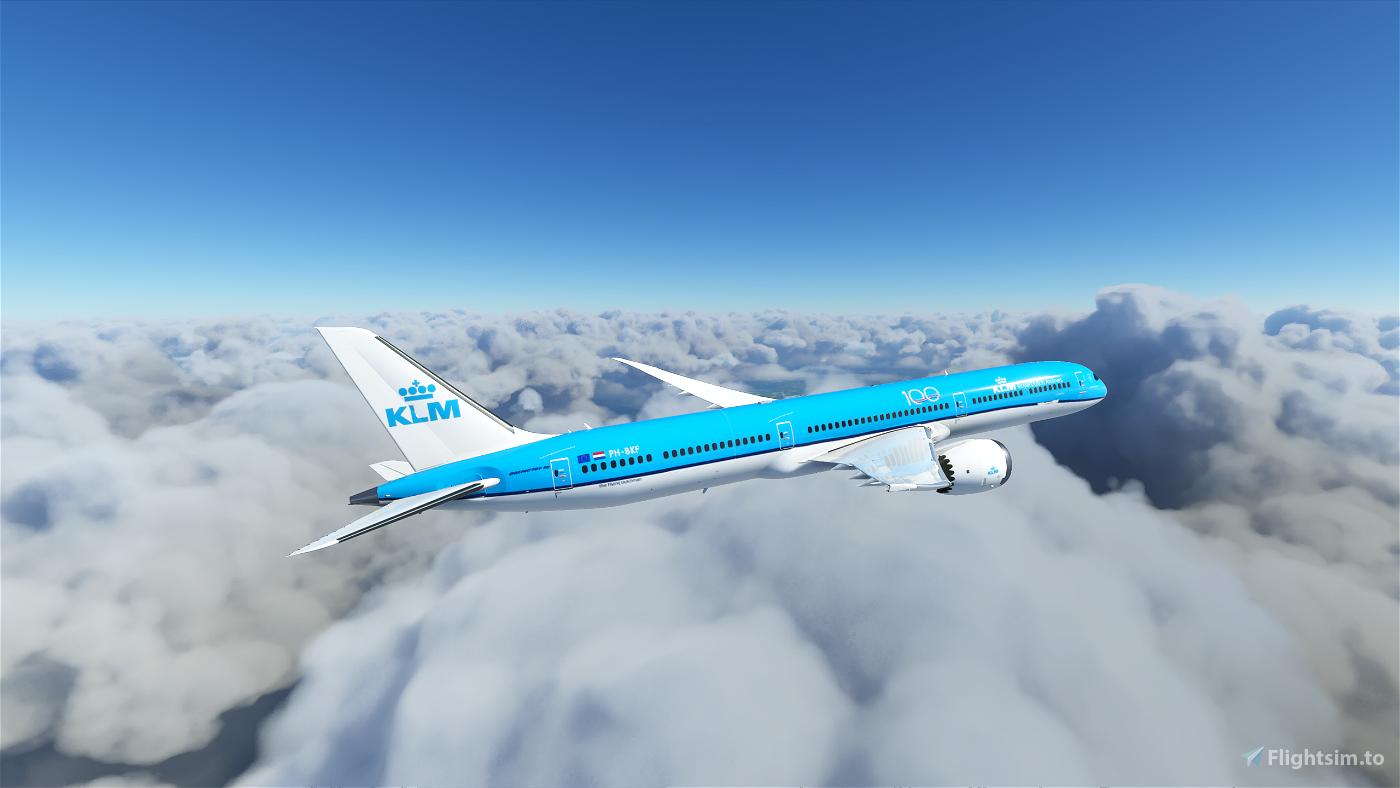 KLM B787-10 Flight Simulator 2020
