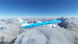 KLM B787-10 Image Flight Simulator 2020