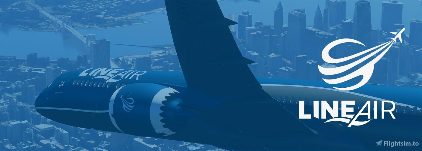 Line Air Matte Color   NEW METHOD Flight Simulator 2020