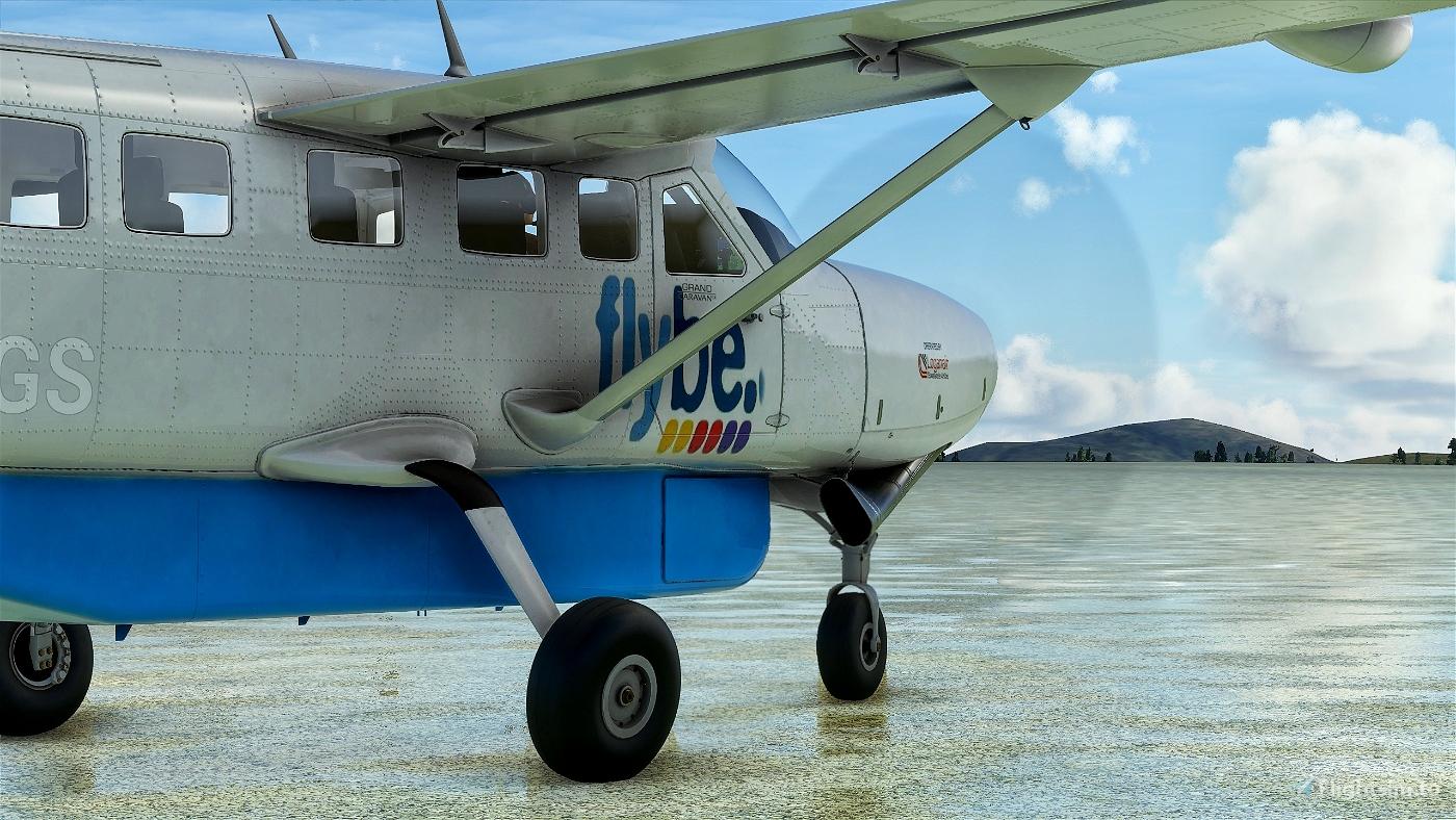 Cessna 208B Grand Caravan Flybe Flight Simulator 2020