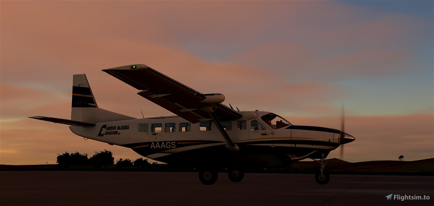 Above Alaska Aviation Grand Caravan EX