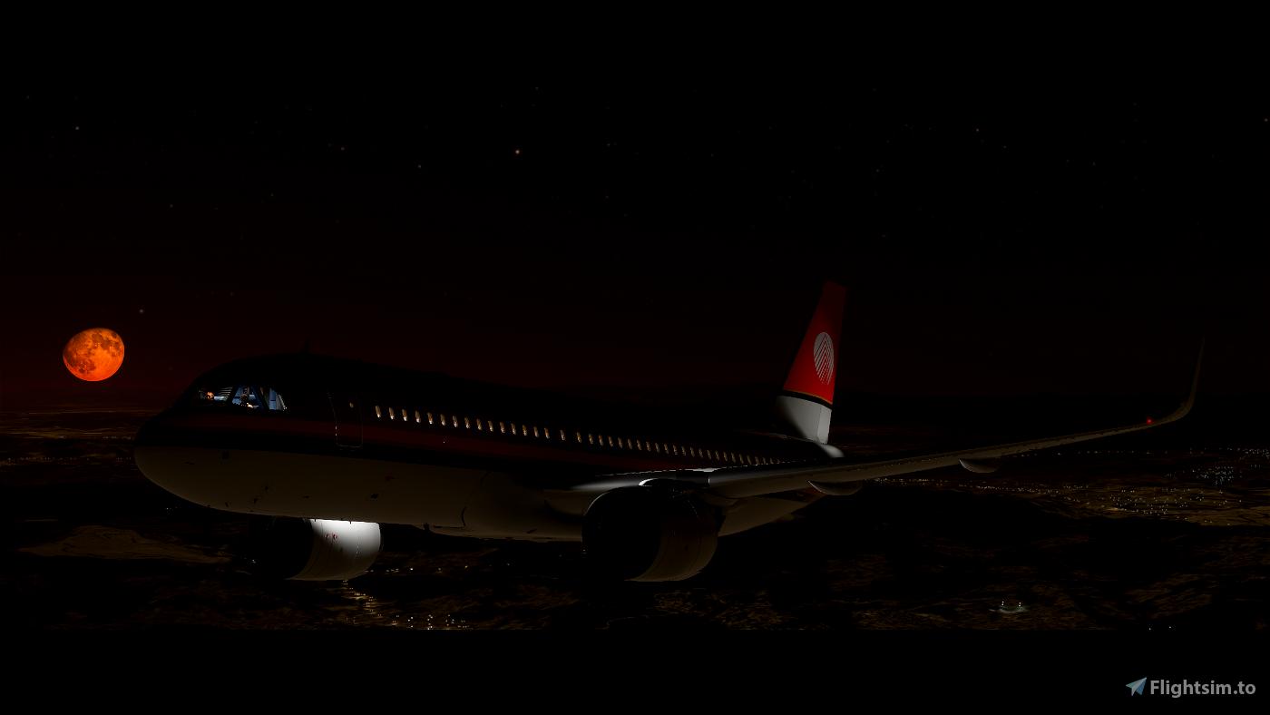 A320NEO Meridiana livery 4k (Drag&Drop)