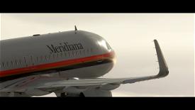 A320NEO Meridiana livery 4k (Drag&Drop) Image Flight Simulator 2020