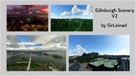 Edinburgh Scenery V2 Microsoft Flight Simulator