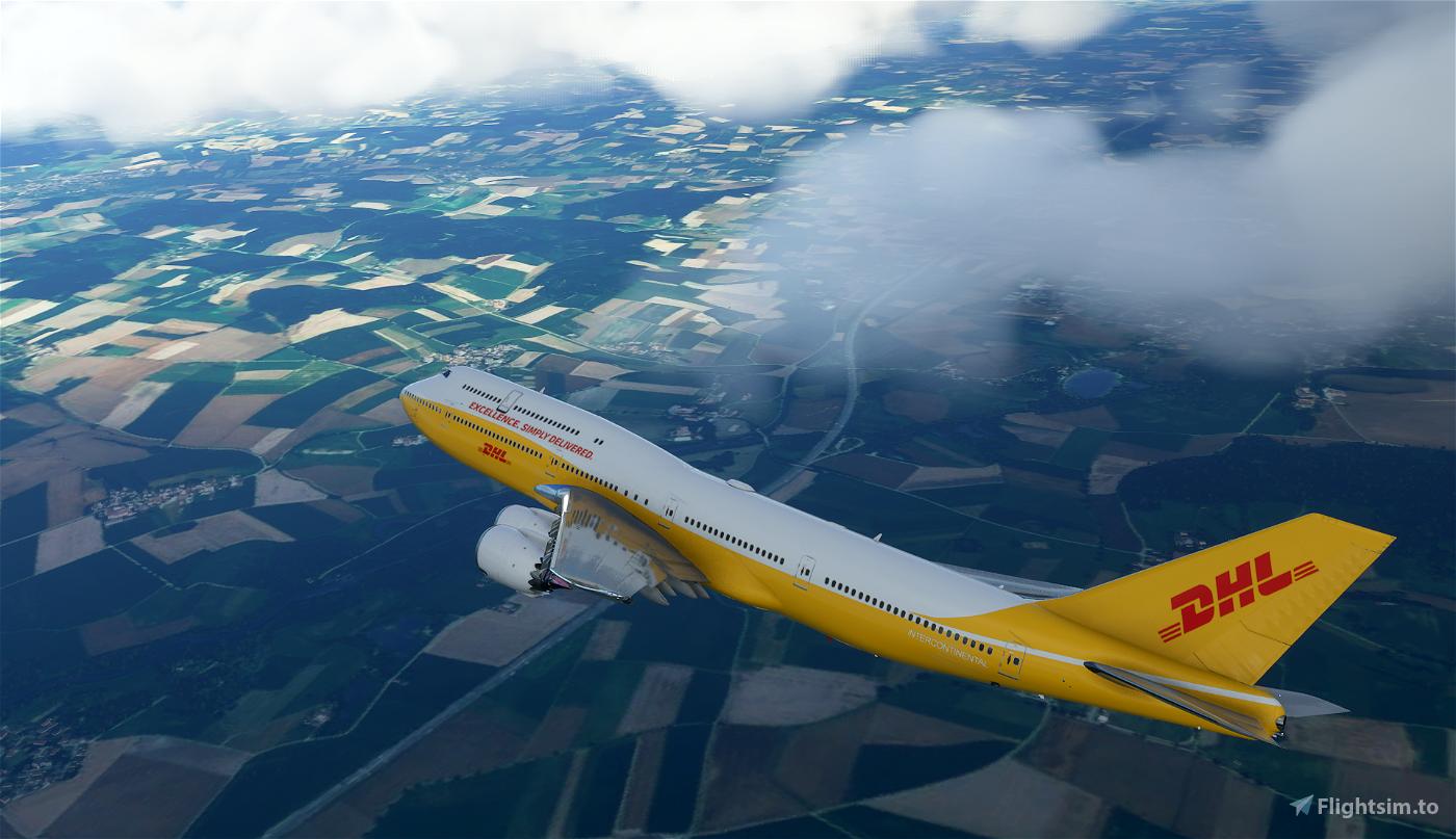 747-800i DHL