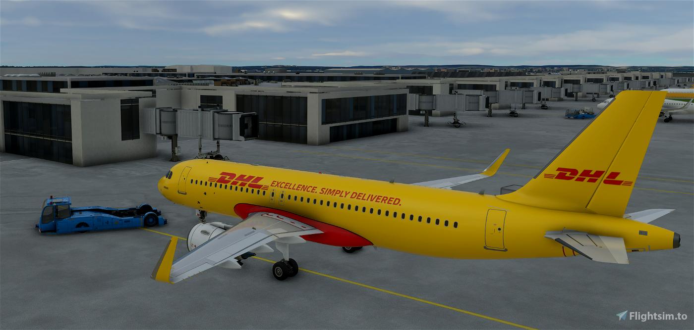 DHL A320 Cargo