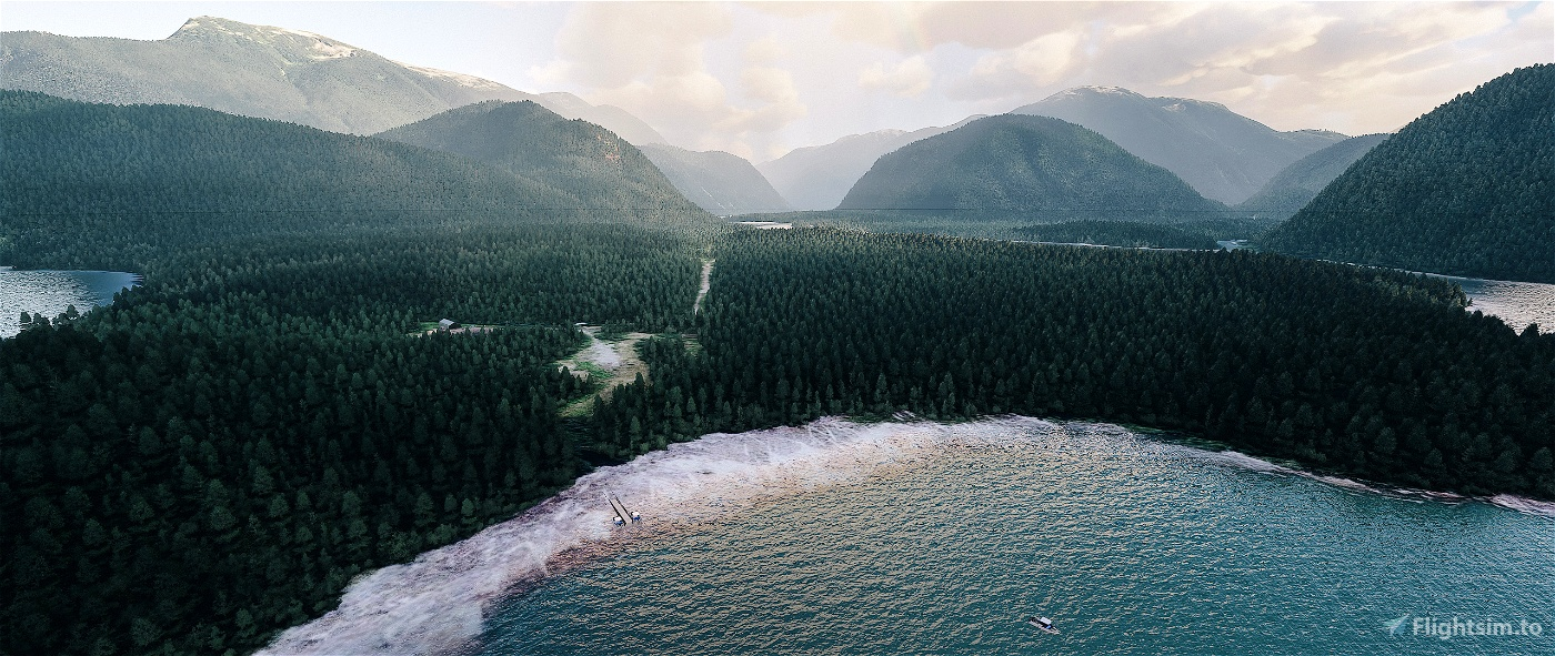 Machmell Fisheries - British Columbia, Canada Flight Simulator 2020