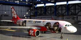 A320neo AirAsia Girls Frontline Image Flight Simulator 2020