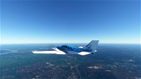 KLM G58 Baron Image Flight Simulator 2020