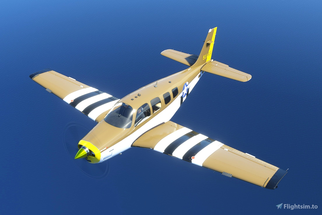 Bonanza G36 - P-51 Tribute