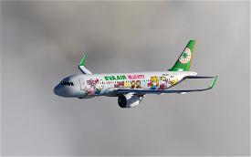 Eva Air Hello Kitty Image Flight Simulator 2020