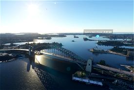 Sydney Harbour Bridge Microsoft Flight Simulator