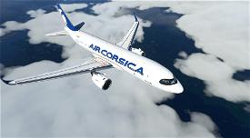 A320 Air Corsica   4K Image Flight Simulator 2020