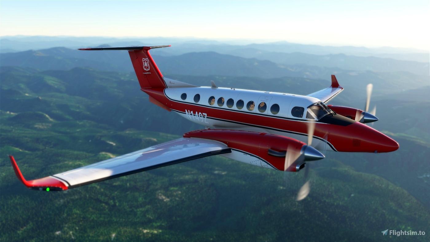 US Forest Service infrared-scanning N149Z Flight Simulator 2020