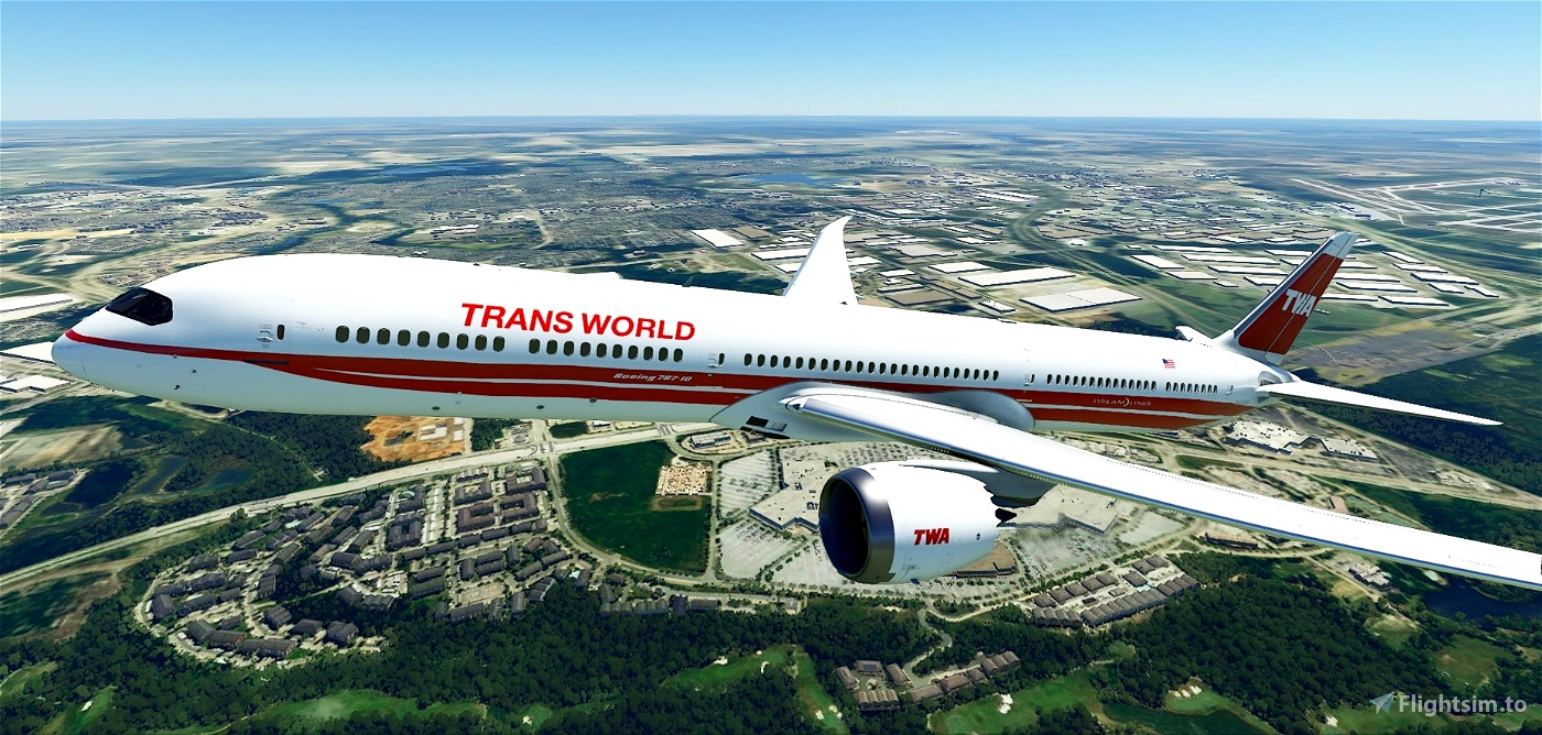 Trans World Airlines (New Method) Flight Simulator 2020