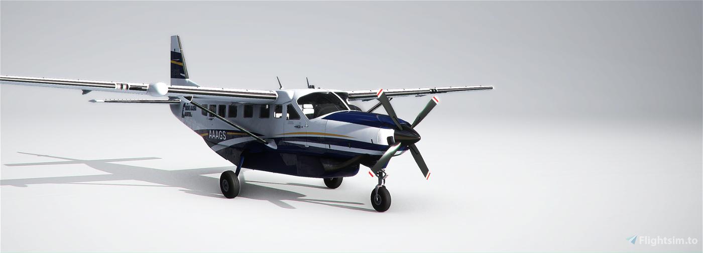 Above Alaska Aviation Grand Caravan EX Flight Simulator 2020