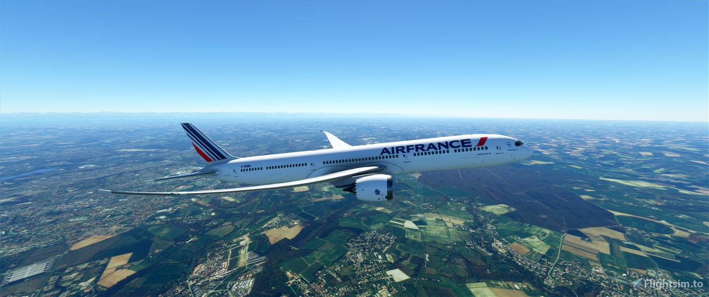 Air France B787-10 Image Flight Simulator 2020