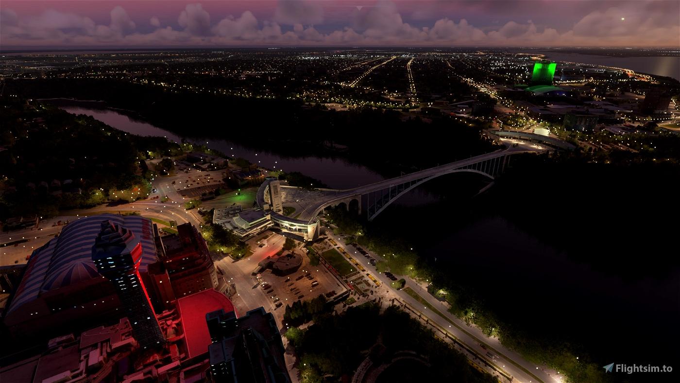 Niagara Falls Enhancement Pack Image Flight Simulator 2020