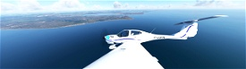Water Modification ( increasing saturation/ blue tint/ contrast) so it looks less dull / drab Image Flight Simulator 2020
