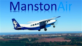 Manston Air Cessna 208b Grand Caravan EX Livery Image Flight Simulator 2020