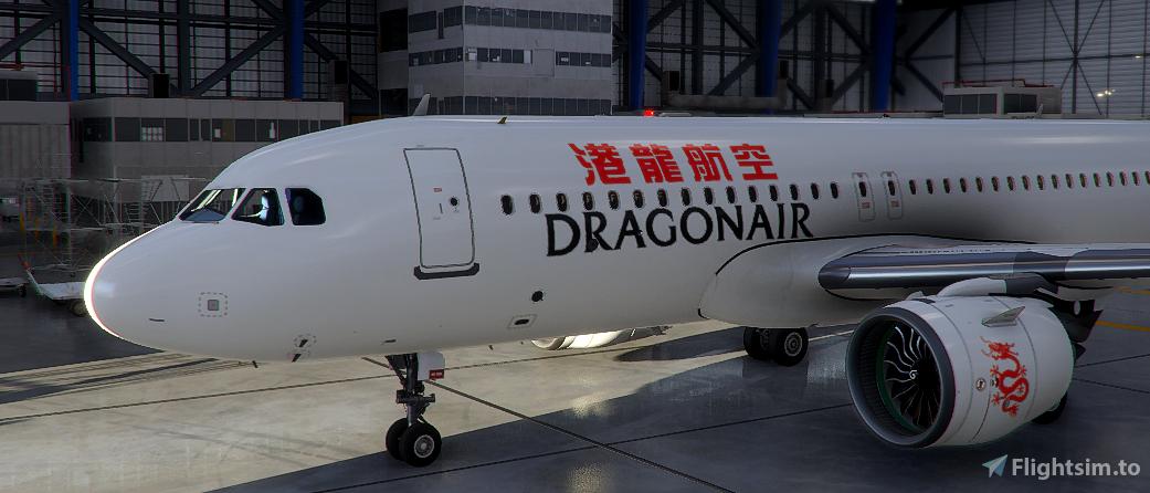Dragonair Livery A320neo Flight Simulator 2020
