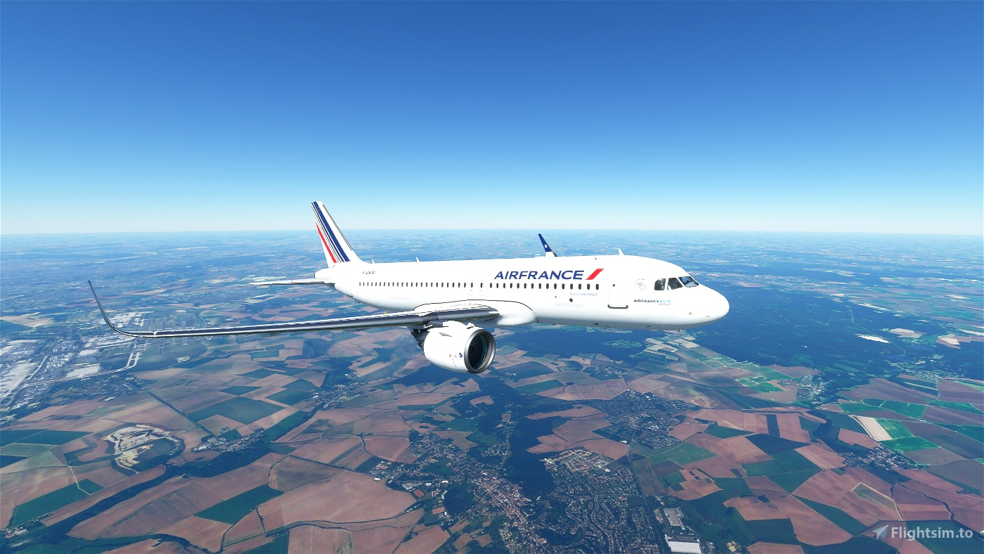 Air France A320 Flight Simulator 2020