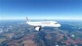 Air France A320 Image Flight Simulator 2020