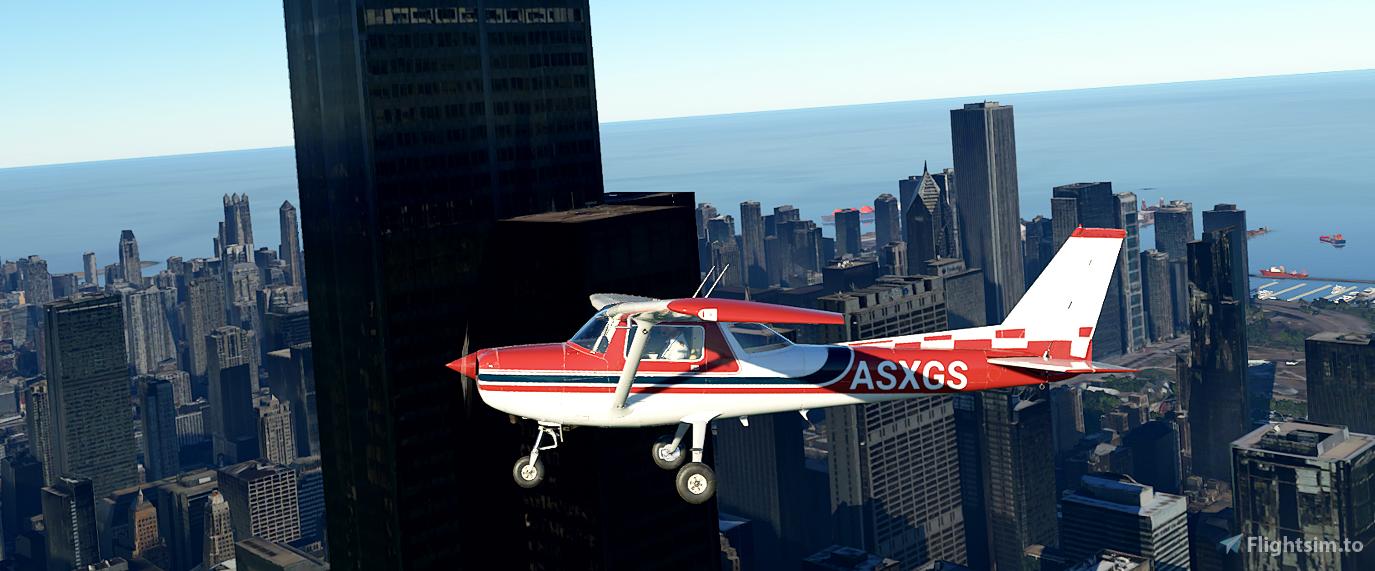 Custom Cessna 152 Liveries V1.3