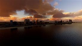 Atlantic City Skyline Image Flight Simulator 2020