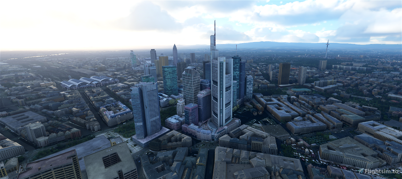 Frankfurt City-Package (WIP, more objects soon) Image Flight Simulator 2020