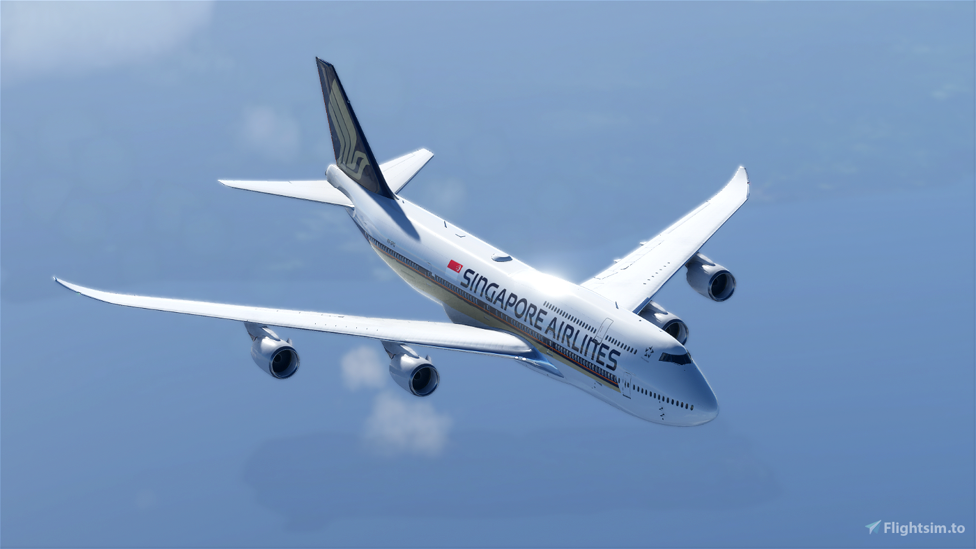 B747 Singapore Airlines Livery