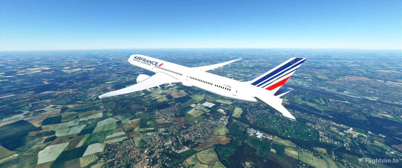 Air France B787-10 Flight Simulator 2020