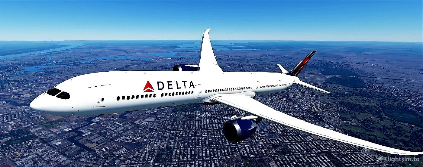 Delta Airlines 787-10 Flight Simulator 2020