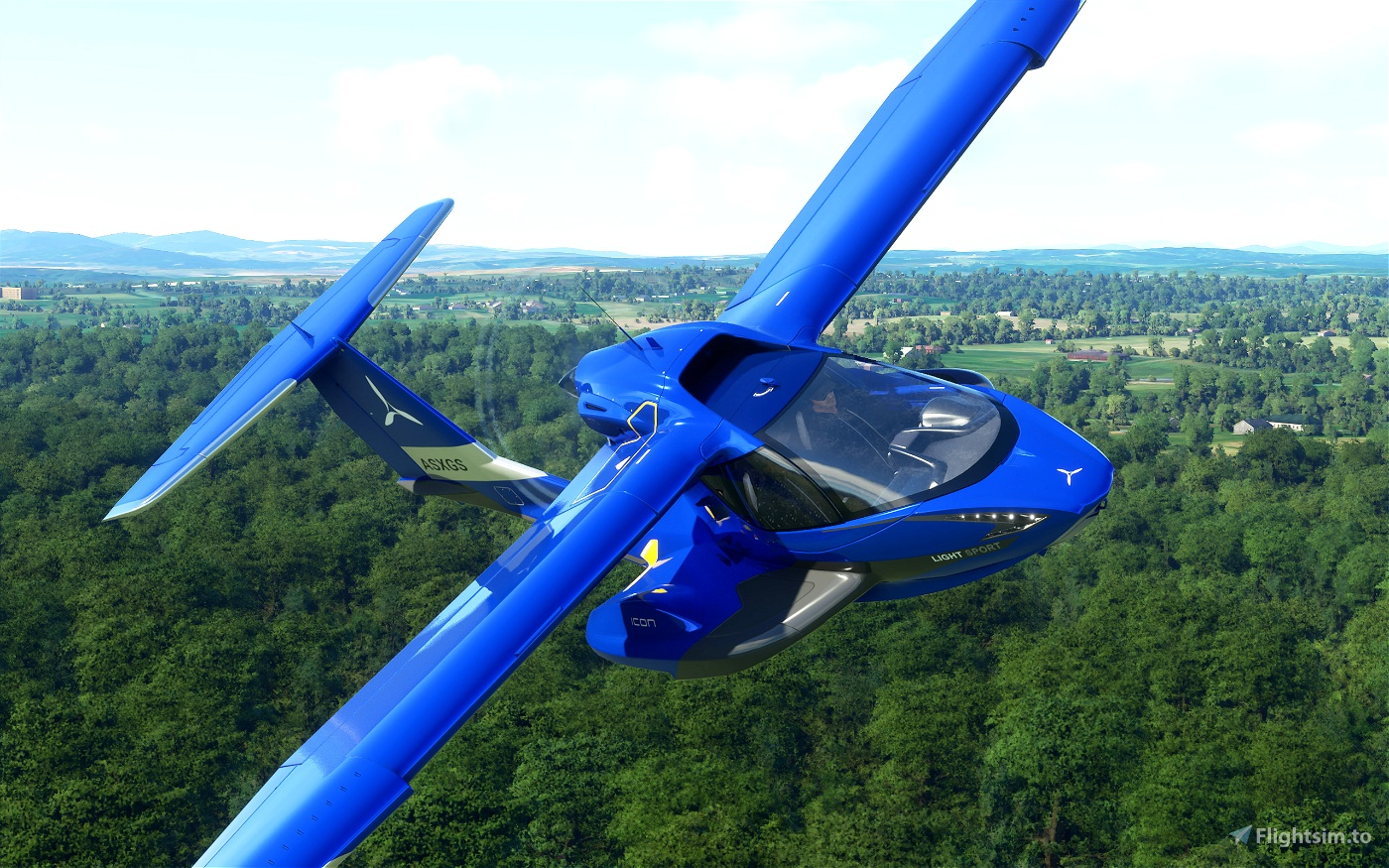 Icon A5 - Metallic (3 colors) Flight Simulator 2020