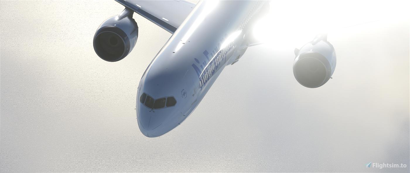 Air Europa 787 Texture | New Method Image Flight Simulator 2020