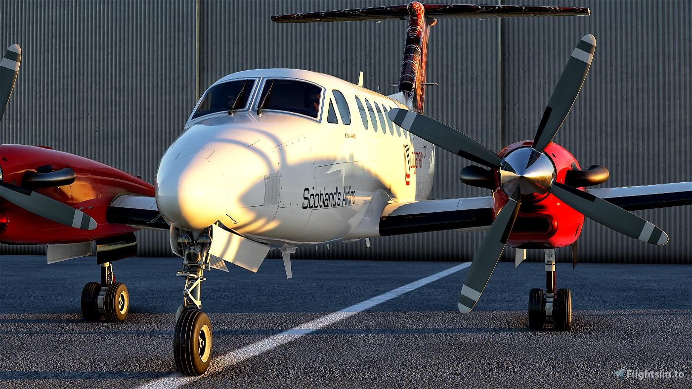 Beechcraft King Air350 Loganair