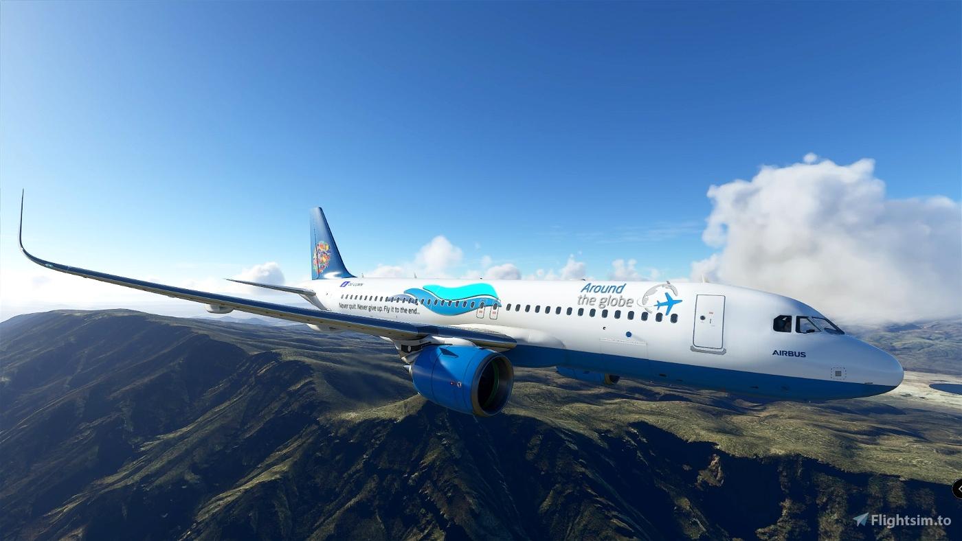 Around The Globe Flight Simulator 2020