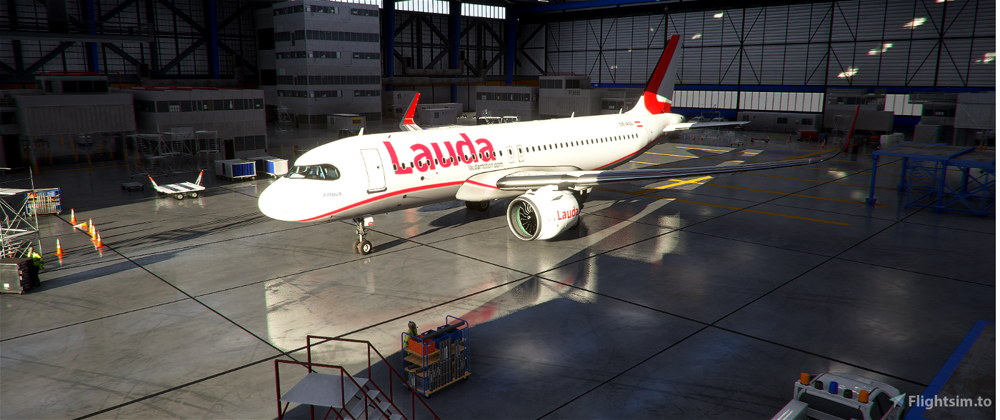 Lauda Air Flight Simulator 2020