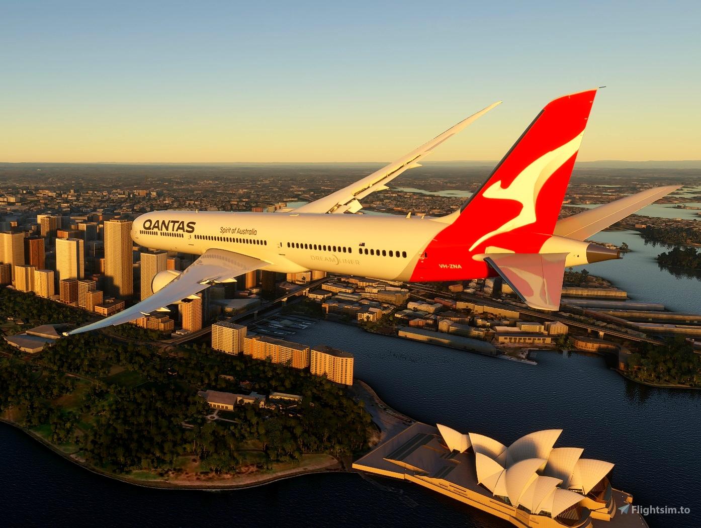 Boeing 787-10 Qantas