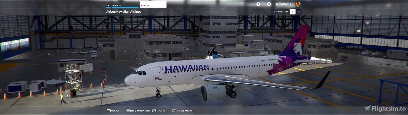 Hawaiian A320 Flight Simulator 2020