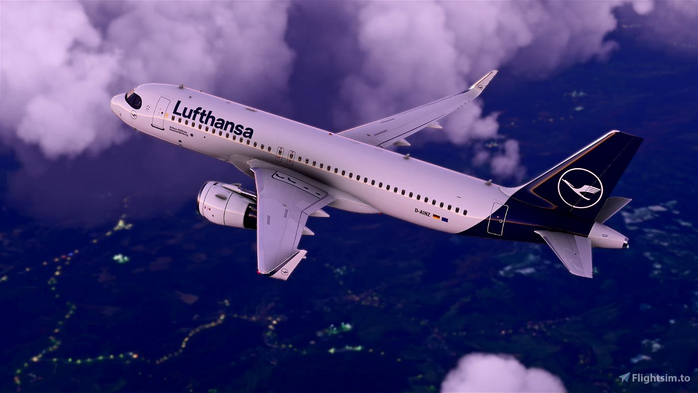 Lufthansa Livery - Ultra Resolution