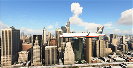 US. AIRWAYS Flight 1549  Image Flight Simulator 2020