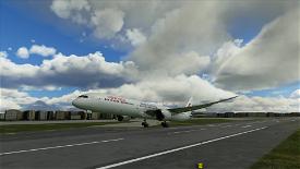 Drag and Drop China Eastern B787-10 B-206K Image Flight Simulator 2020