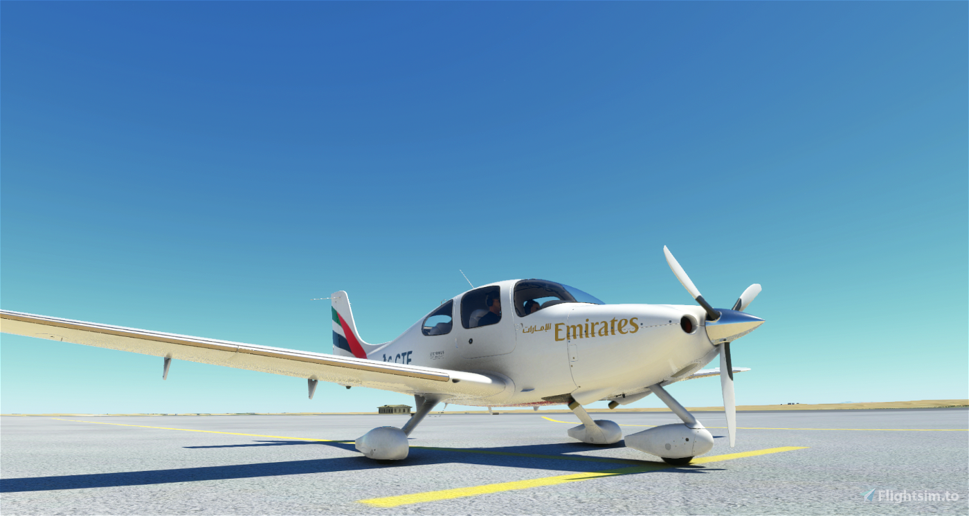 Cirrus SR22 Emirates Academy  Flight Simulator 2020