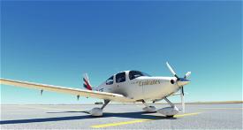 Cirrus SR22 Emirates Academy  Image Flight Simulator 2020