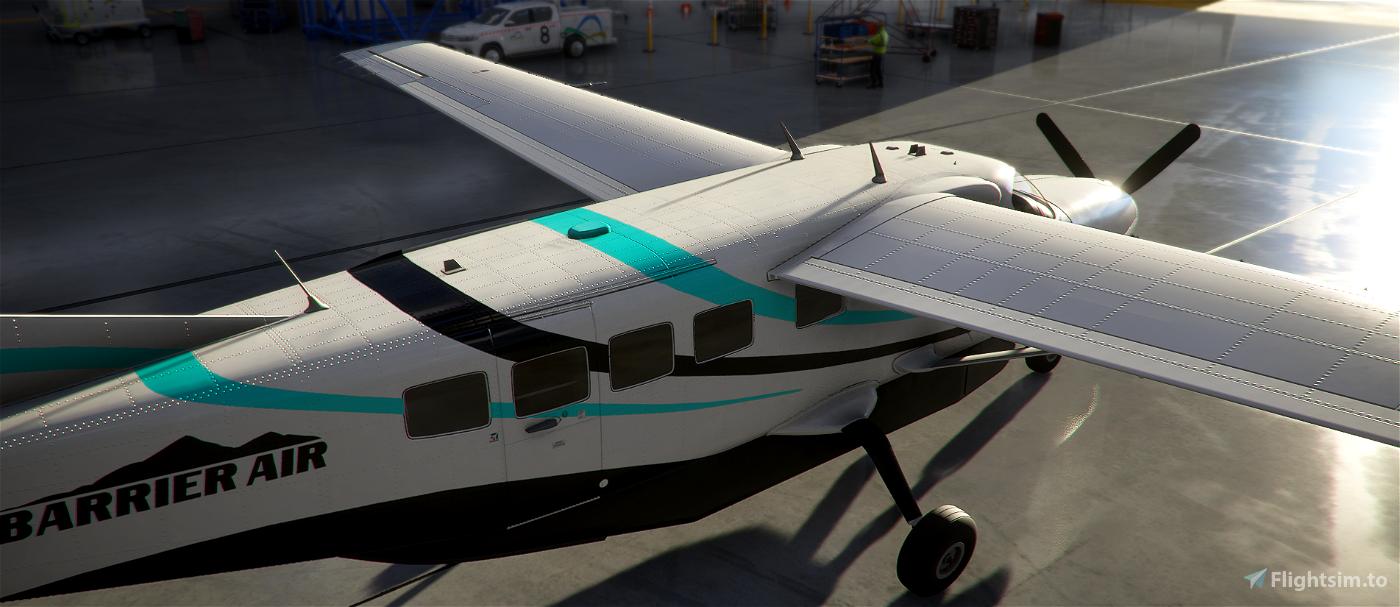 New Zealand Barrier Air Caravan 208 Flight Simulator 2020