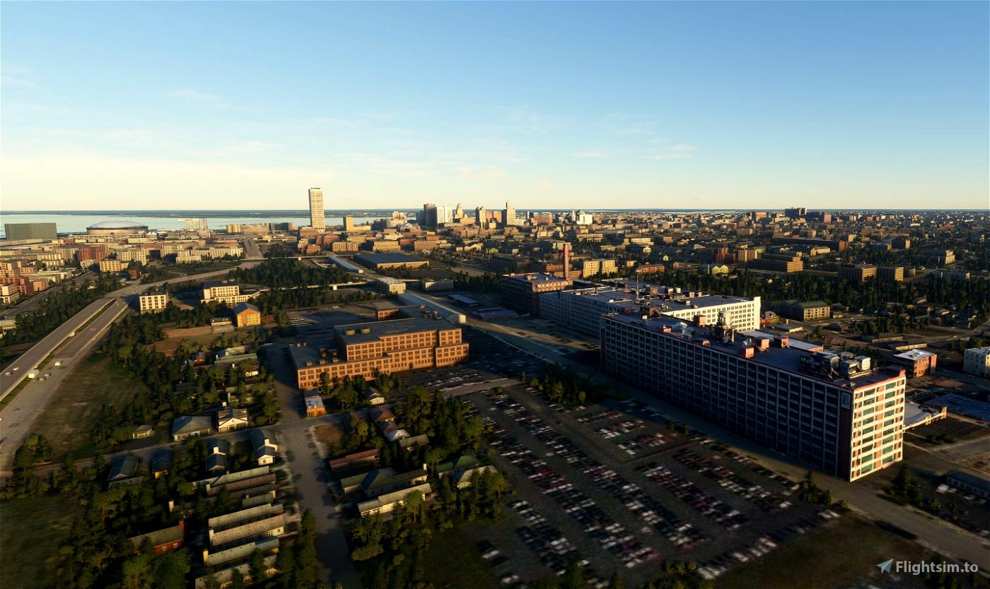 Buffalo NY Skyline Pack Version 2